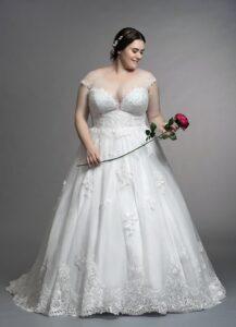Wedding Dresses for Short, Chubby Brides