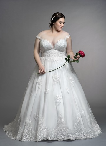 Wedding Dresses for Short, Chubby Brides