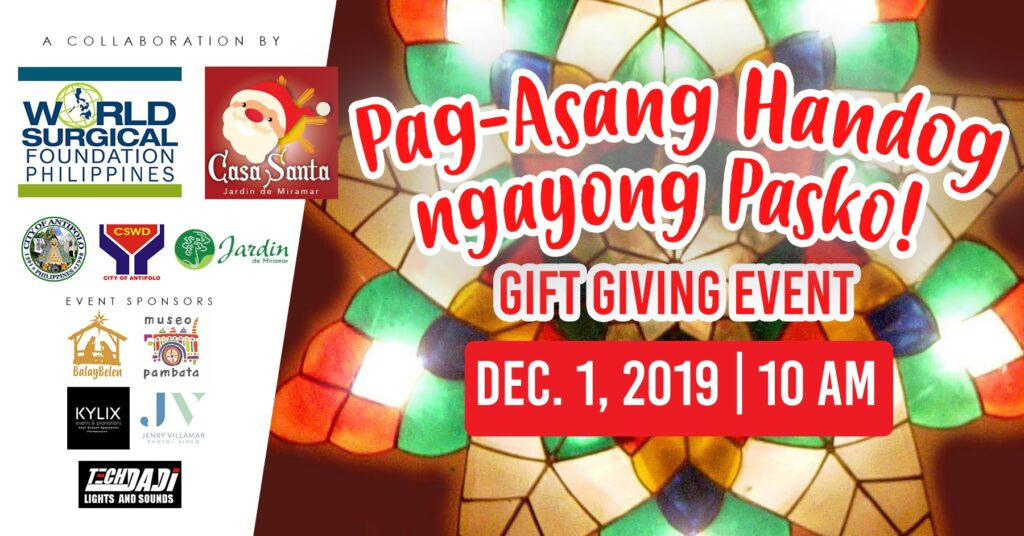 World Surgical Philippines christmas gift giving