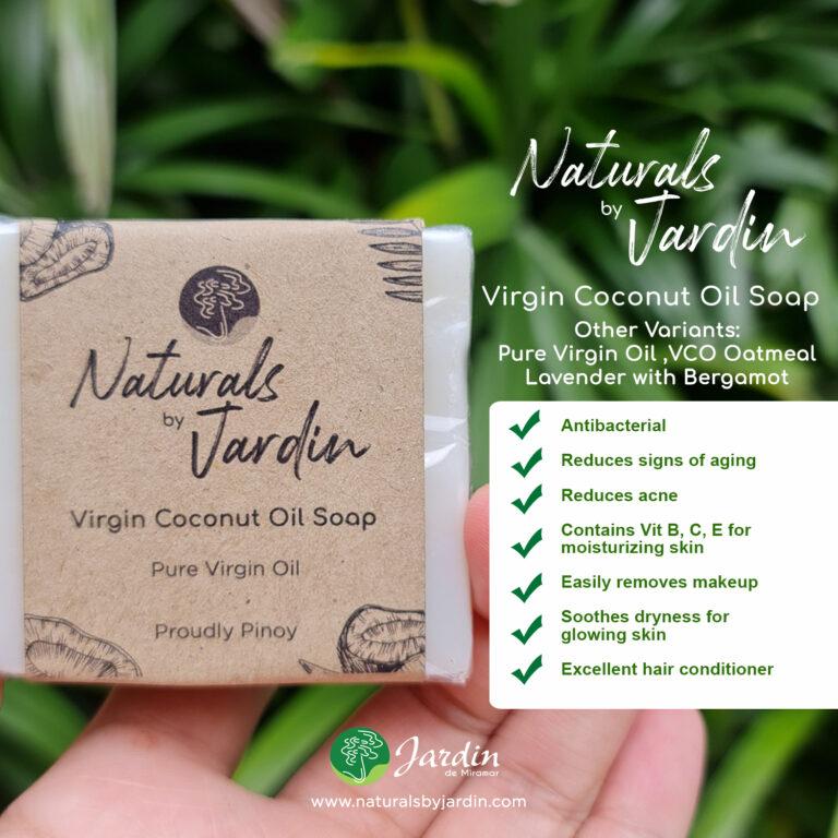 Jardin Naturals Pure VCO soap