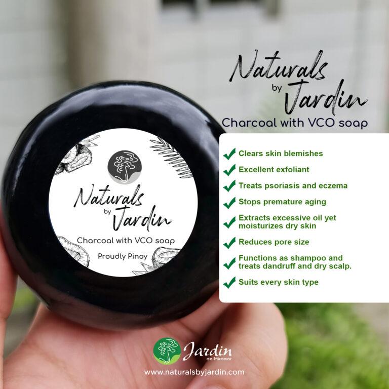Jardin Naturals Pure Charcoal soap