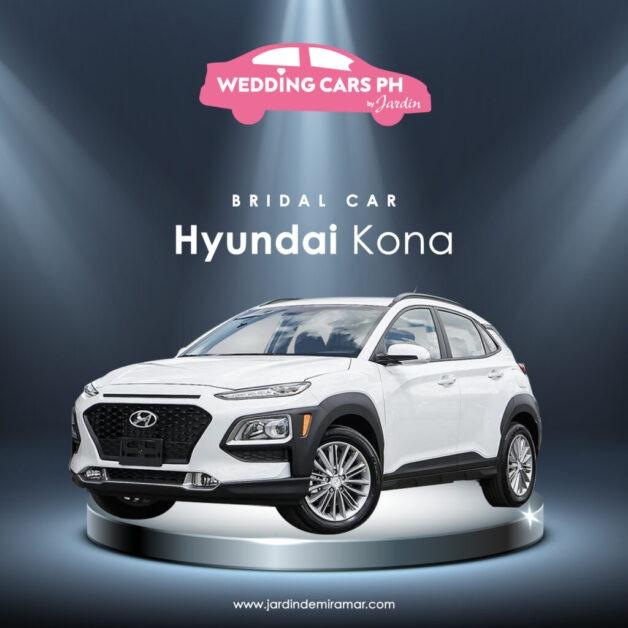 Hyundai Kona Wedding Cars PH