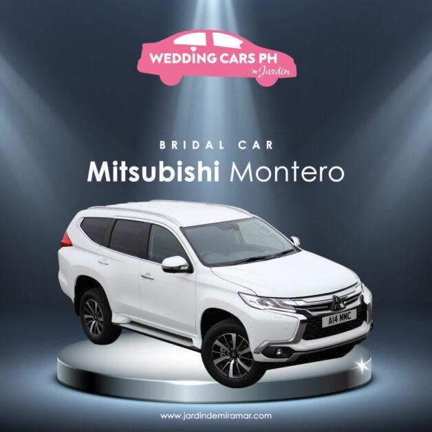 Mitsubishi Montero Wedding Cars PH