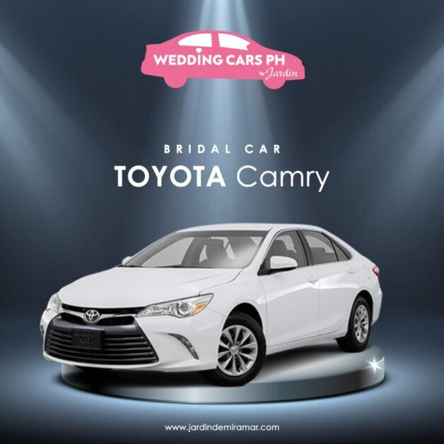 Toyota Camry Wedding Cars PH