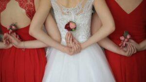valentine's-wedding-bridesmaids-red