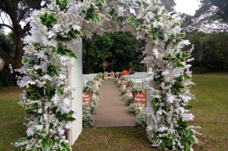 Prado garden venue at Jardin de Miramar