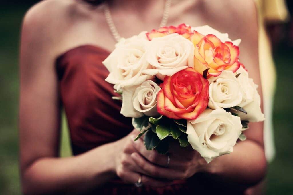 bouquet, roses, bouquet of flowers