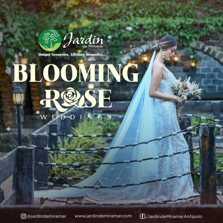 Blooming Rose Wedding promo Jardin de Miramar