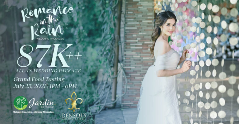 Romance in the Rain with Densol's Catering