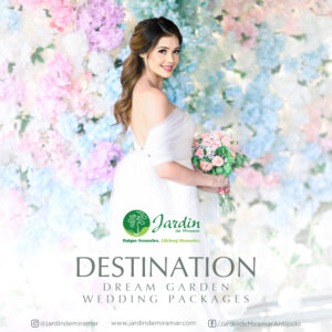 Destinations: Dream Garden Wedding All in promo at Jardin de Miramar