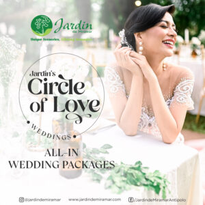 Jardin's the Weddnig Circle of Love Packages