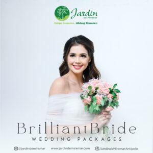 Brilliant Bride All in Wedding promo Jardin de Miramar