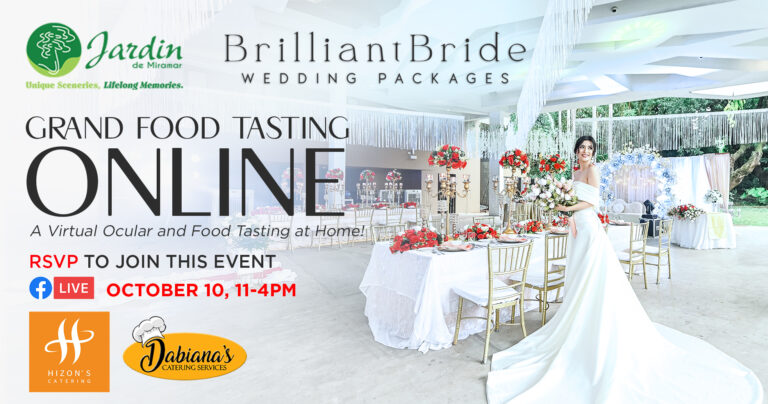 Grand Food Tasting online Hizon's Catering and Dabianas'a Catering